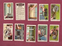 Tobacco Cigarette cards set How to do it  1924, by C.W.S.